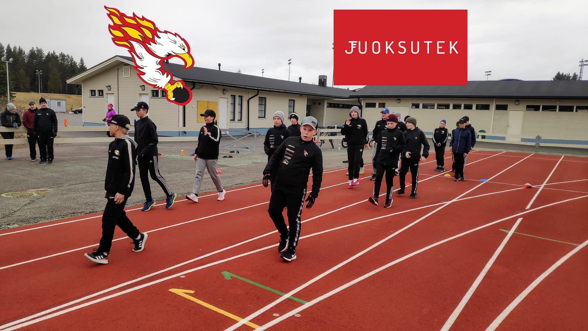 Juoksutek ja Kiekko Laser U14 juoksuvelmennus sopimus