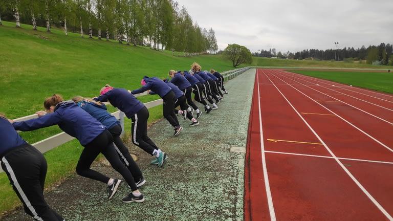 Venyttely ja kehonhuolto - Juoksutek