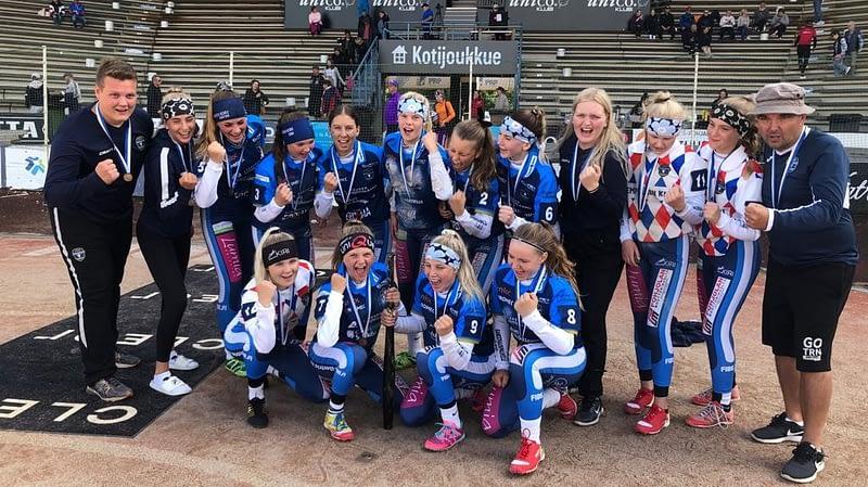 KeKi Pesis C-Tytöt ottivat SM-pronssia 2020