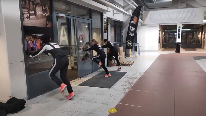Juoksunopeutta harjoitelu - Nopeus - Juoksutek