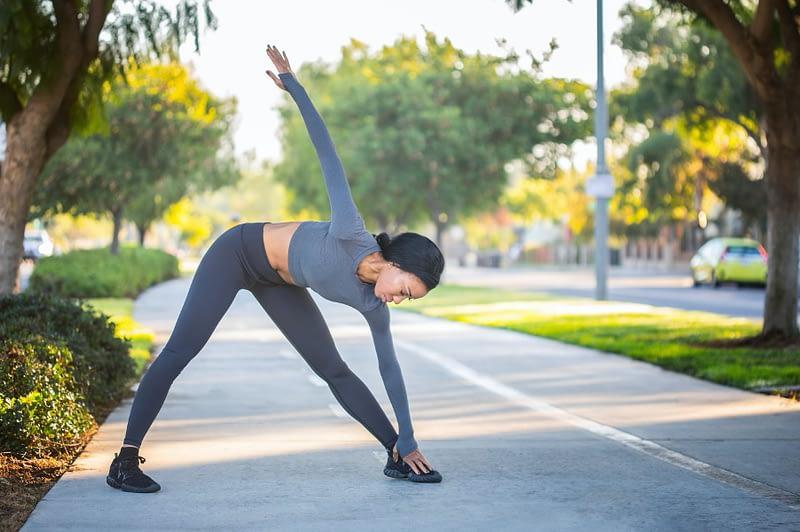 Juoksussa kehonhallinta keskittyy myös koko vartalon liikkeisiin
